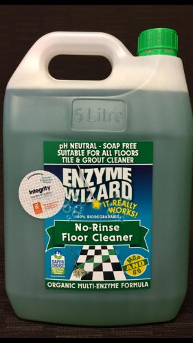 Integrity Health Enzyme Wizard No Rinse Floor Cleaner